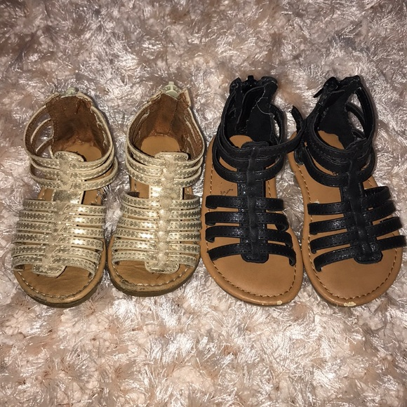 bac2d437e009 Cherokee Other - 💕🦄 2 Pairs of Toddler Girl Gladiator Sandals